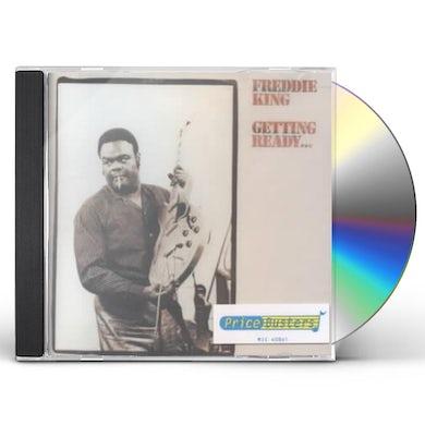Freddie King GETTING READY CD