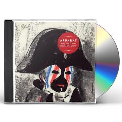 Apparat KRIEG UND FRIEDEN (MUSIC FOR THEATRE) CD