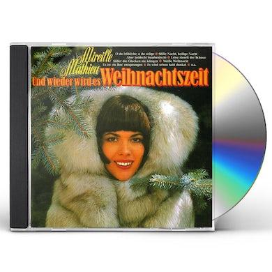 Mireille Mathieu UND WIEDER WIRD ES WEIHNACHTSZEIT CD