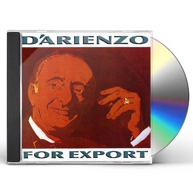Juan d'Arienzo FOR EXPORT CD
