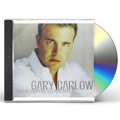 Gary Barlow TWELVE MONTH ELEVEN DAYS CD