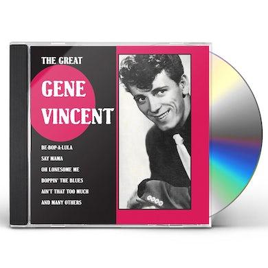 GREAT GENE VINCENT CD