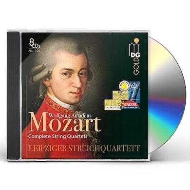 Wolfgang Amadeus Mozart COMPLETE STRING QUARTETS CD