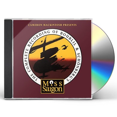 Miss Saigon COMPLETE RECORDING OF BOUBILL & SCHONBERG CD