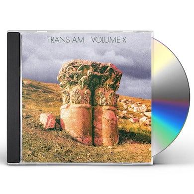Trans Am VOLUME X CD