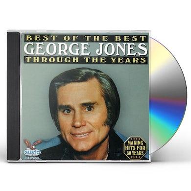 George Jones BEST THROUGH THE YEARS CD
