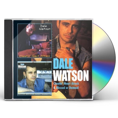 Dale Watson CHEATIN HEART ATTACK / BLESSED OR DAMNED CD