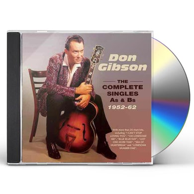 Don Gibson COMPLETE SINGLES A'S & B'S 1952-62 CD