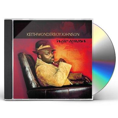 Keith Wonderboy Johnson NEW SEASON CD