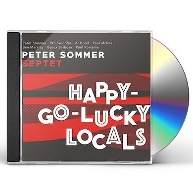 Peter Sommer HAPPY-GO-LUCKY LOCALS CD