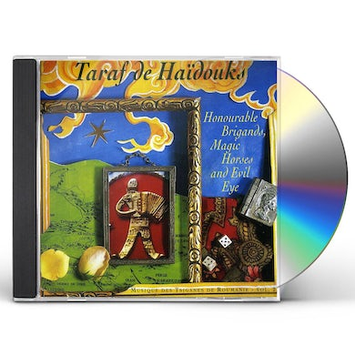 Taraf de Haidouks HONOURABLE BRIGANDS MAGIC HORSES & EVIL EYES CD