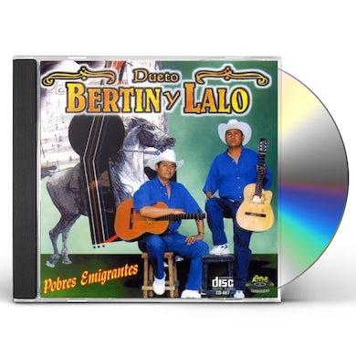 Bertin y Lalo POBRES EMIGRANTES CD