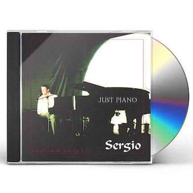 Sergio JUST PIANO CD