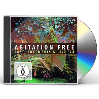 Agitation Free LAST FRAGMENTS & LIVE '74 CD