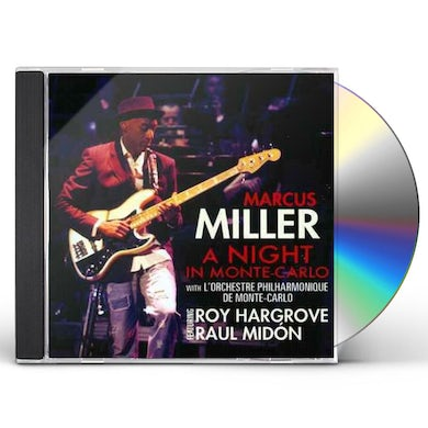 Marcus Miller NIGHT IN MONTE CARLO CD