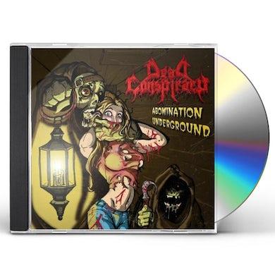 Dead Conspiracy ABOMINATION UNDERGROUND CD