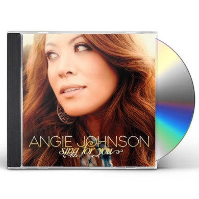 Angie Johnson SING FOR YOU CD