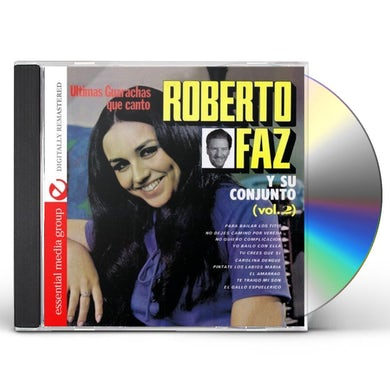Roberto Faz ULTIMOS BOLEROS QUE CANTO 2 CD
