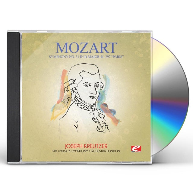 Mozart SYMPHONY NO. 31 IN D MAJOR K. 297 PARIS CD