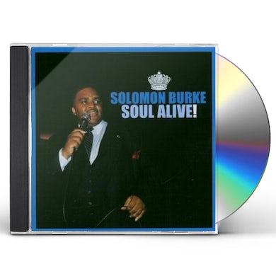 Solomon Burke SOUL ALIVE CD