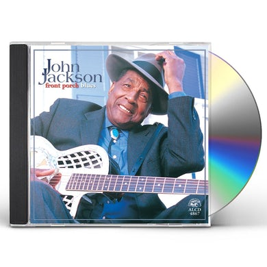 John Jackson FRONT PORCH BLUES CD