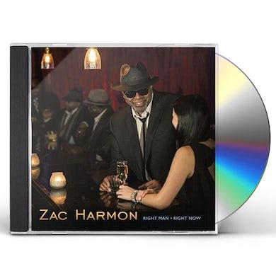 Zac Harmon RIGHT MAN RIGHT NOW CD