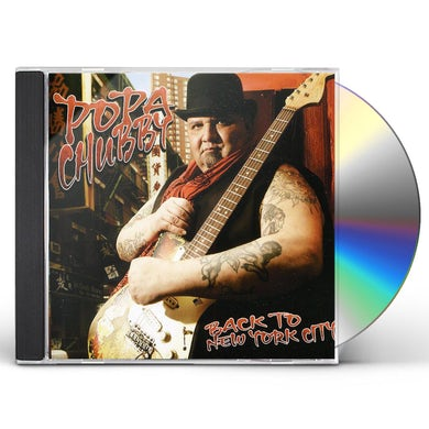 Popa Chubby BACK TO NEW YORK CITY CD