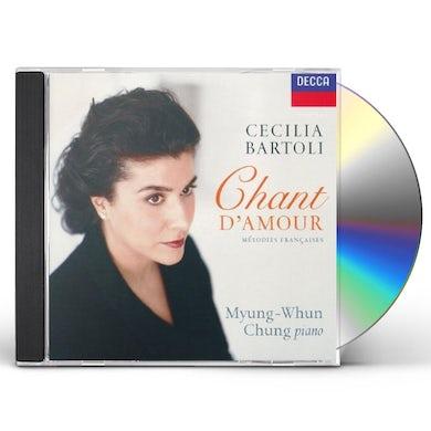 Cecilia Bartoli CHANT D'AMOUR CD