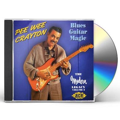 Pee Wee Crayton BLUES GUITAR MAGIC CD