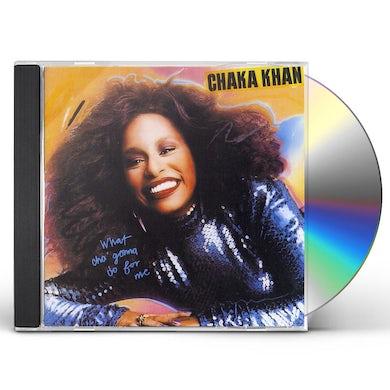 Chaka Khan WHAT'CHA GONNA DO FOR ME CD