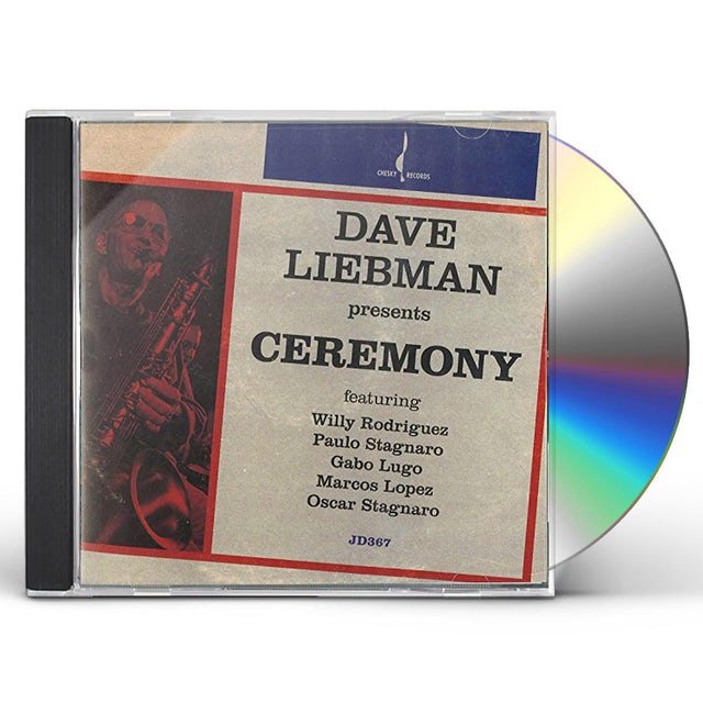 Dave Liebman CEREMONY CD