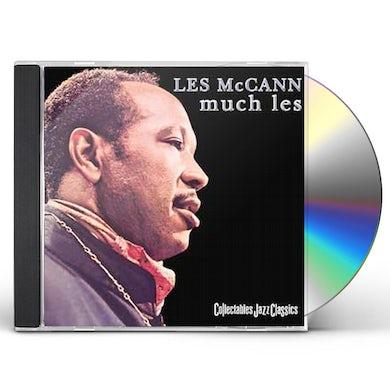 Les Mccann MUCH LES CD