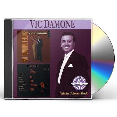 Vic Damone THAT TOWERING FEELING / ON THE SWINGIN SIDE CD