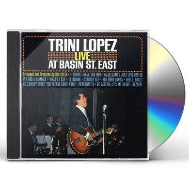 Trini Lopez LIVE AT BASIN STREET EAST CD