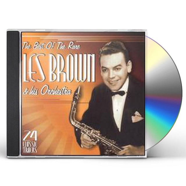 Les Brown & His Orchestra BEST OF THE RARE LES BROWN CD