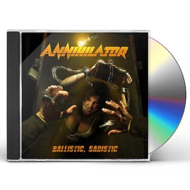 Annihilator Ballistic Sadistic CD