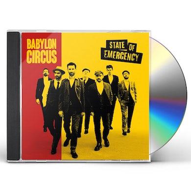Babylon Circus STATE OF EMERGENCY CD
