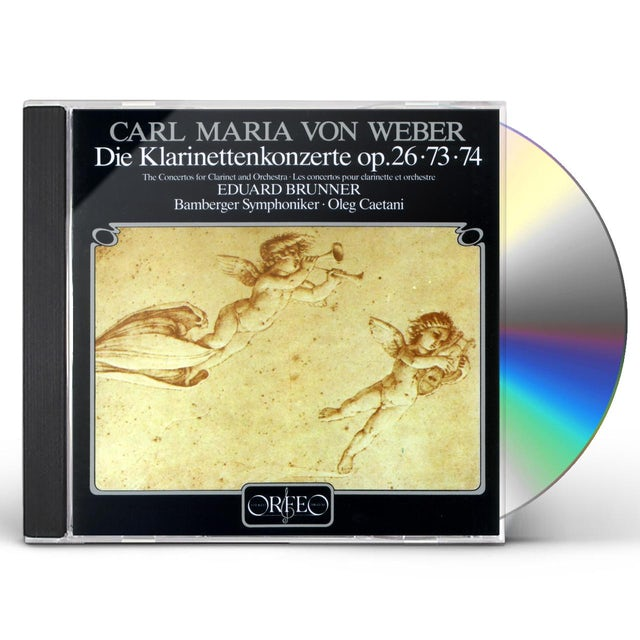 Weber CLARINET CONCERTOS CD