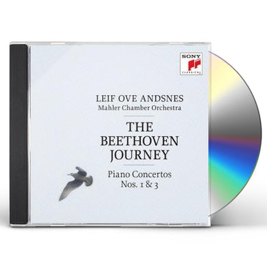 Leif Ove Andsnes BEETHOVEN JOURNEY: PIANO CTOS. 1 & 3 CD