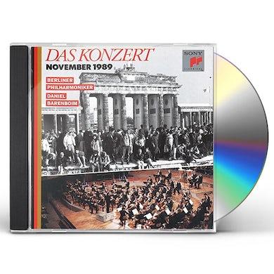 Daniel Barenboim DAS KONZERT NOVEMBER 1989: BEETHOVEN CD