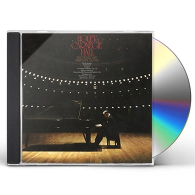 JORGE BOLET AT CARNEGIE HALL 1974 CD