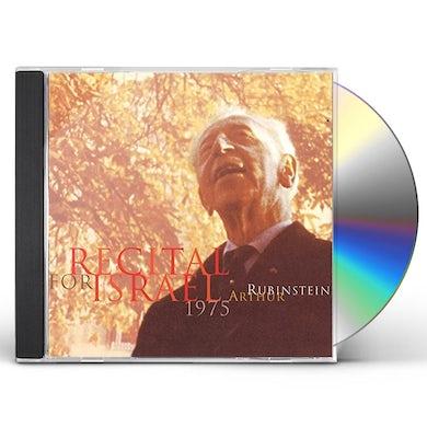 Arthur Rubinstein RECITAL FOR ISRAEL CD