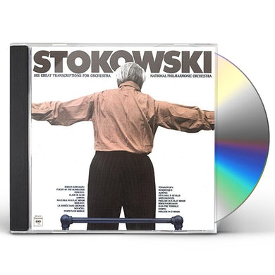 Leopold Stokowski HIS GREAT ORCHESTRAL TRANSCRIPTIONS CD