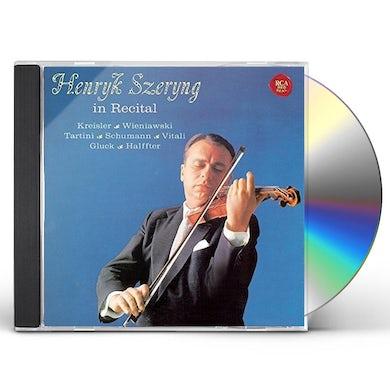 Henryk Szeryng HANRYK SZHERYNG IN RECITAL CD