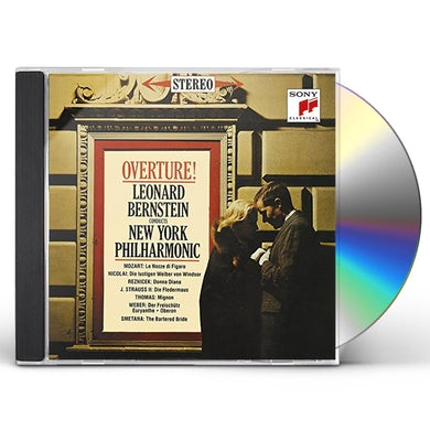 Leonard Bernstein OPERA OVERTURES CD