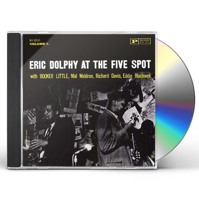 Eric Dolphy AT FIVE SPOT 1+1 CD