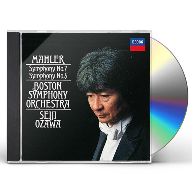 Seiji Ozawa MAHLER: SYMPHONIES NO. 7 NO. 8 CD