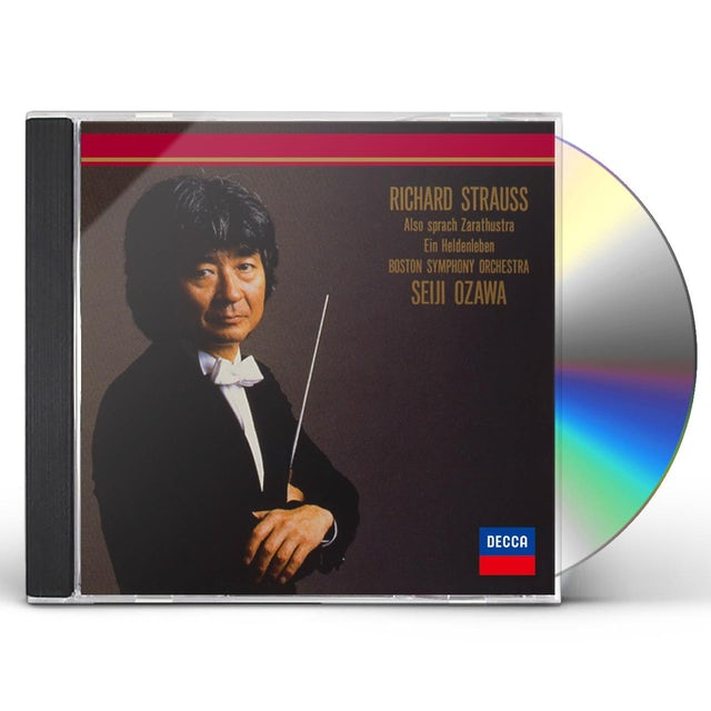 Seiji Ozawa R. STRAUSS: EINE ALPENSINFONIE CD