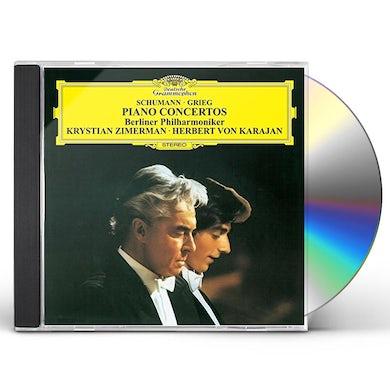 Krystian Zimerman SCHUMANN & GRIEG: PIANO CONCERTOS CD
