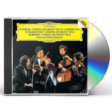 Emerson String Quartet DVORAK: STRING QUARTET 12 AMERICA CD